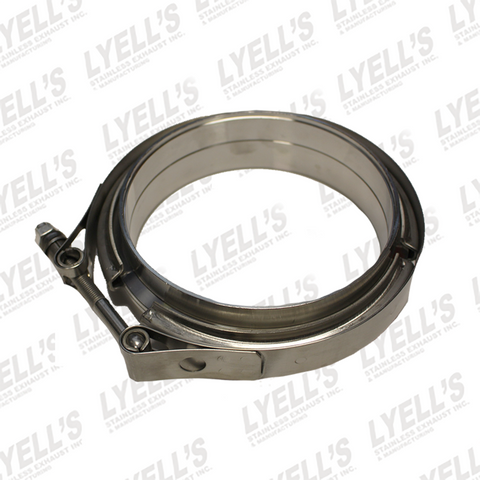 "5"" V-Band Clamp Kit - 304 Stainless Steel - Lyell's Stainless Exhaust Inc., Mandrel Bending Ontario"
