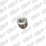 12mm Angled O2 Sensor Bung - Stainless Steel