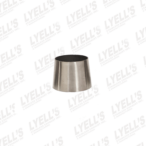 "2"" to 2½"" x 2"" long - Concentric Tube Reducers - Lyell's Stainless Exhaust Inc., Mandrel Bending Ontario"
