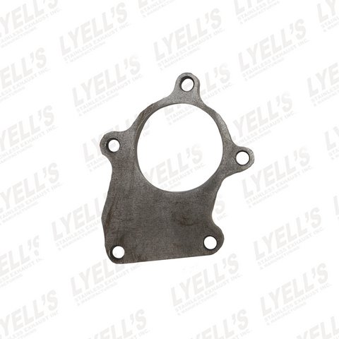 "5 BOLT T3 OUTLET FLANGE - 1/2"" THICK - MILD STEEL - Lyell's Stainless Exhaust Inc., Mandrel Bending Ontario"