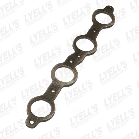 "GM LS HEADER FLANGE  - 1/2"" THICK - MILD STEEL - Lyell's Stainless Exhaust Inc., Mandrel Bending Ontario"