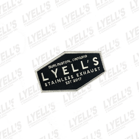 Lyell's Stainless Exhaust Iron-On Patch - Lyell's Stainless Exhaust Inc., Mandrel Bending Ontario