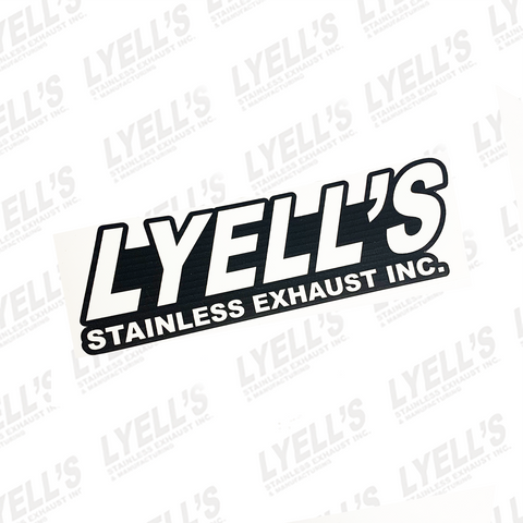 Lyell's Stainless Exhaust Stickers - Lyell's Stainless Exhaust Inc., Mandrel Bending Ontario