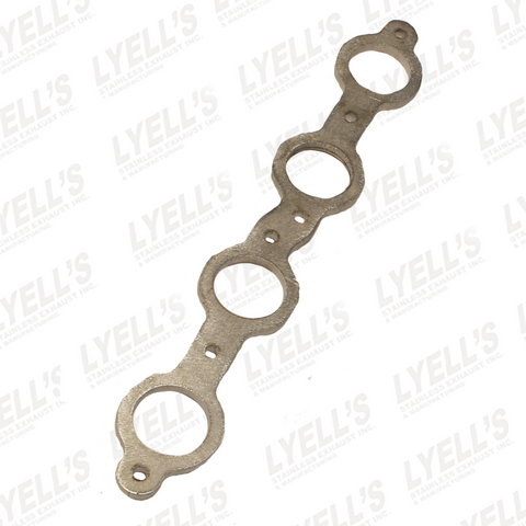 "GM LS HEADER FLANGE  - 1/2"" THICK - 304 STAINLESS - Lyell's Stainless Exhaust Inc., Mandrel Bending Ontario"