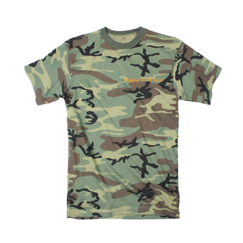 Happy To Be Here Camo Tee