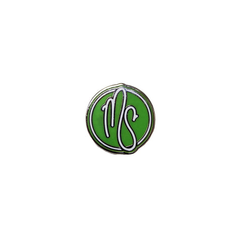 Circle MS Logo Pin
