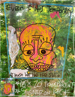 "Even If It's Temporary 16"" x 20"" Mod Sun Painting"