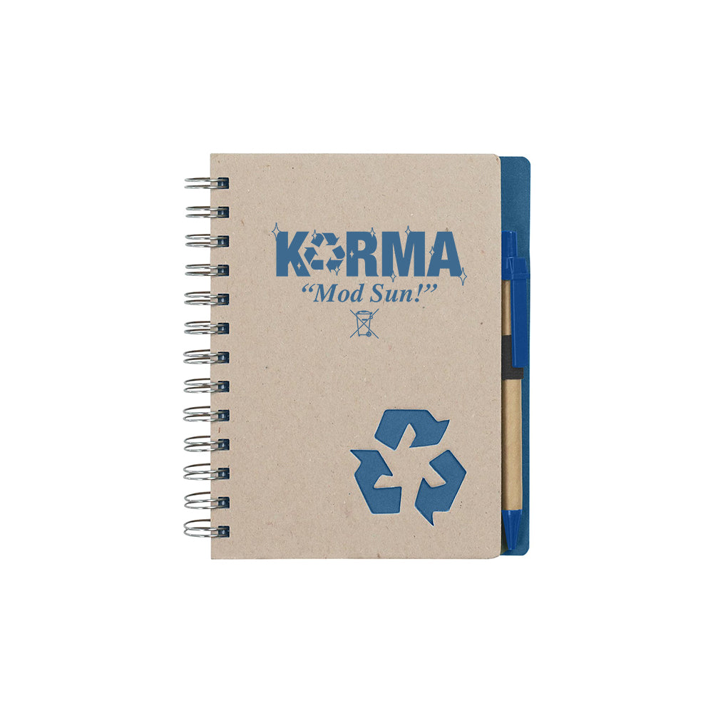 Karma Recycled Notebook & Pen
