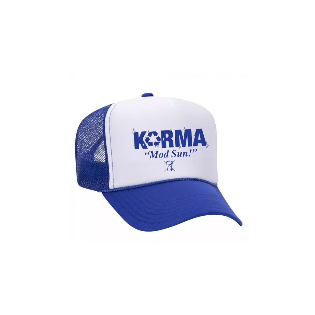 Karma Blue Trucker Hat