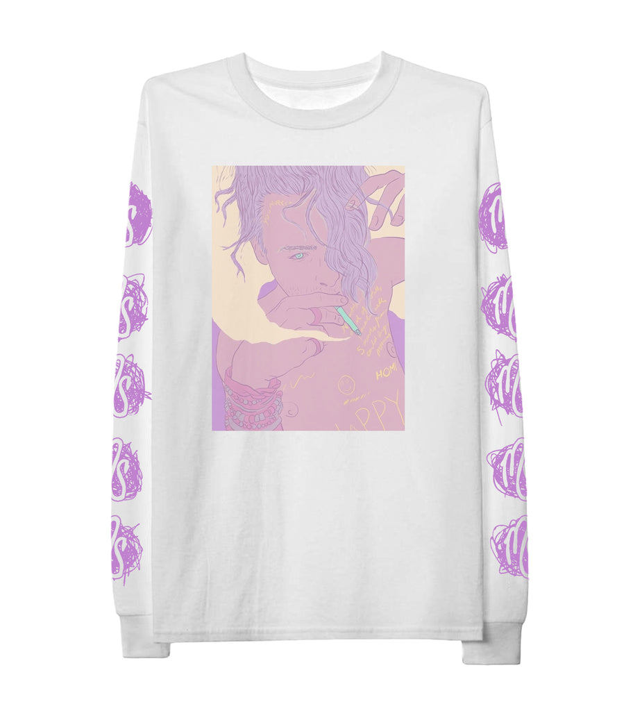 Cartoon Long Sleeve Tee