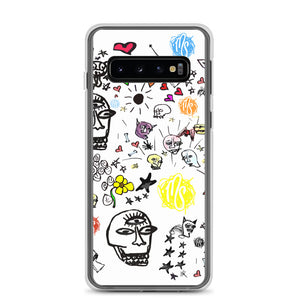 Art All Over White Samsung Case