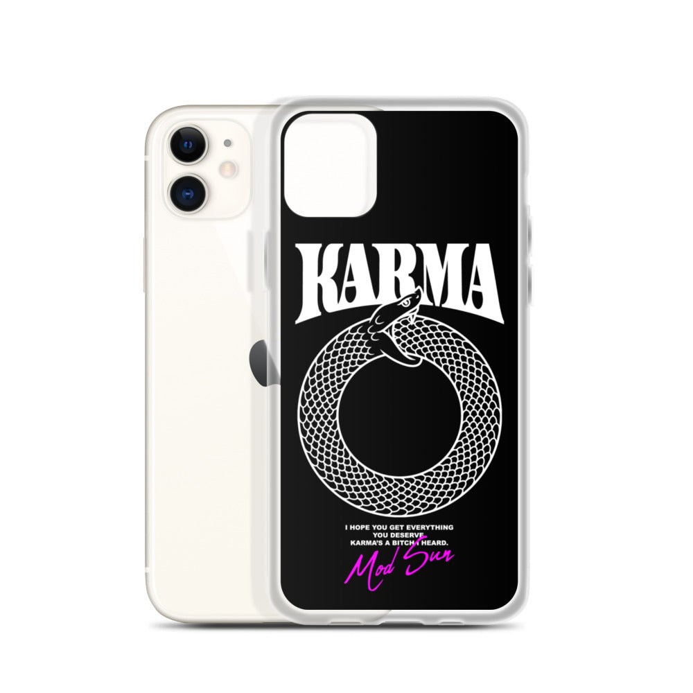 Karma Snake iPhone Case