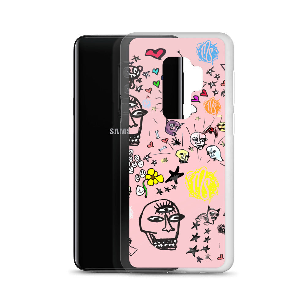 Art All Over Pink Samsung Case