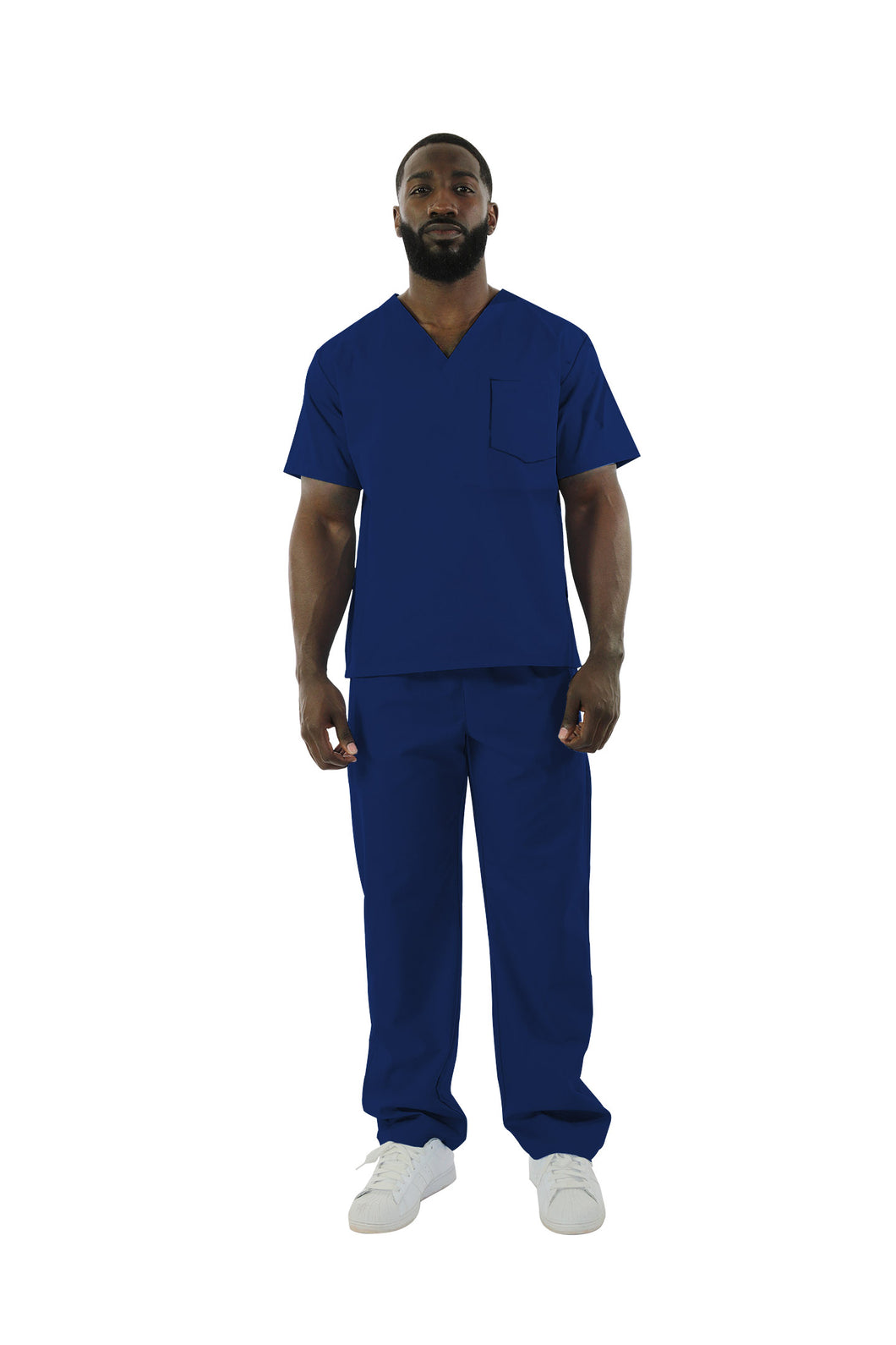 220C - UltraSoft One Pocket Scrub Top