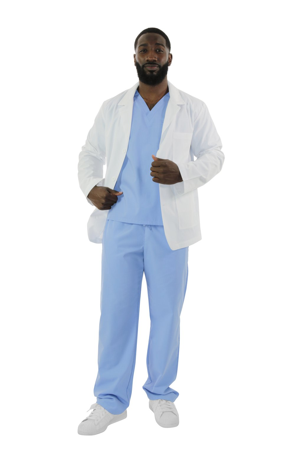 "406A- 30"" Antimicrobial Consultation Lab Coat"