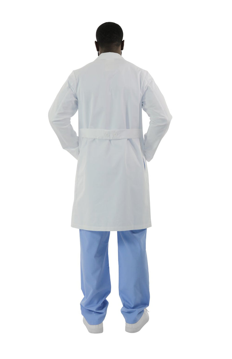 "421A - 40"" Antimicrobial Twill Lab Coat"