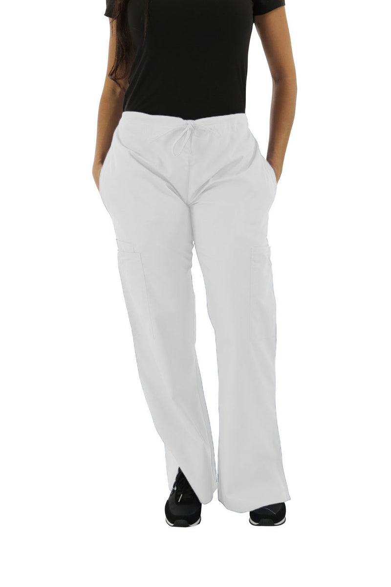 314C - Elastic/Drawstring Combo Flair Scrub Pants
