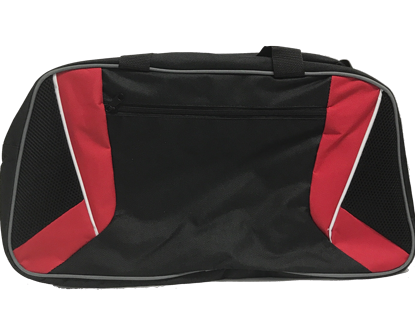 Oxford Polyester Duffel Bag With Zipper Pocket