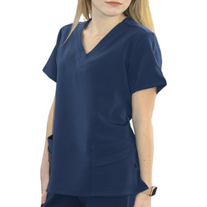 WYND Women's Antimicrobial Scrub Top