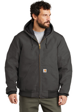 Load image into Gallery viewer, CTSJ140 Carhartt ® Quilted-Flannel-Lined Duck Active Jac