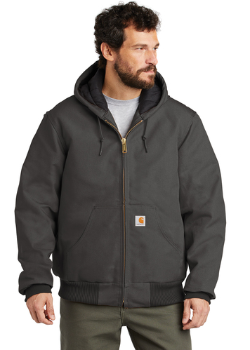 CTSJ140 Carhartt ® Quilted-Flannel-Lined Duck Active Jac