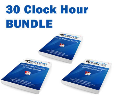All-In-One 30 Clock Hours Renewal Bundle