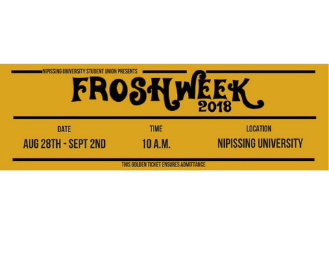 Frosh Ticket 2018