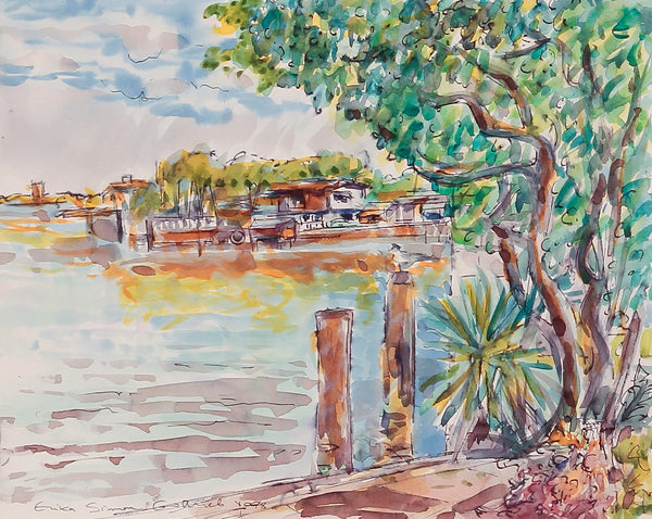 Florida Scene by Erika Simon Gottlieb