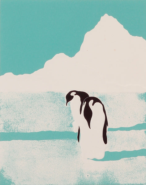 Two Penguins by D. Clark Sealy