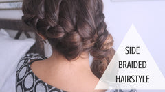 SIDE DUTCH BRAID WITH HAIR EXTENSIONS