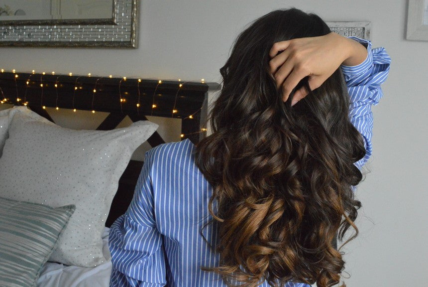 How To Curl Anchante Clip In Hair Extensions Anchant Hair