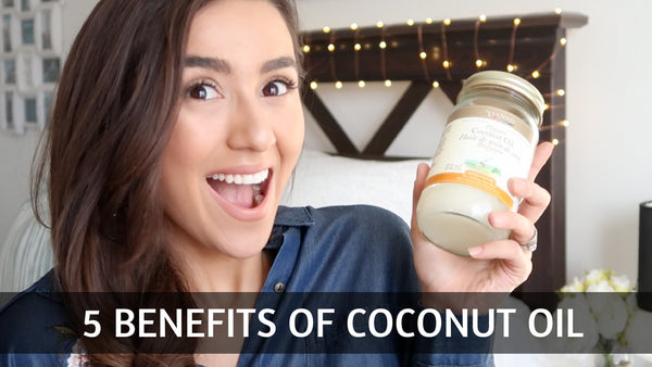 5 Benefits of Coconut Oil for your hair - Anchante Hair Youtube channel