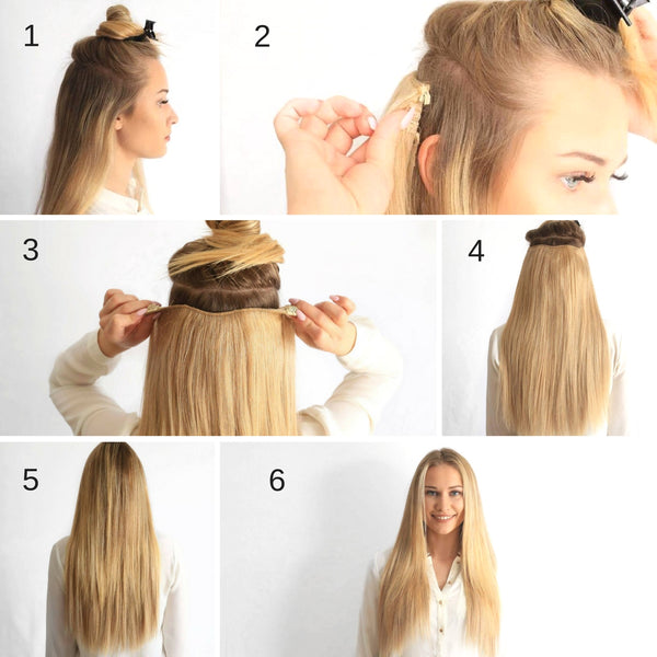 Why should you choose clip in hair extensions anchant hair how to clip in hair extensions pmusecretfo Gallery