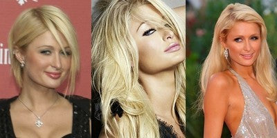 Paris Hilton - Anchante hair clip in extensions