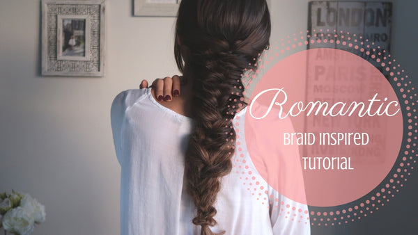 Romantic Braid Inspired Hairstyle Anchante Hair Youtube