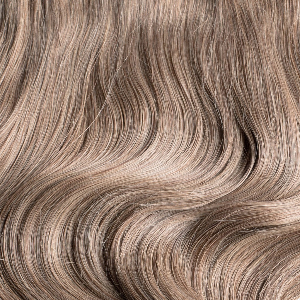 "160 Grams | Length 20"" - DIRTY BLONDE #18-CLIP IN HUMAN HAIR EXTENSIONS"