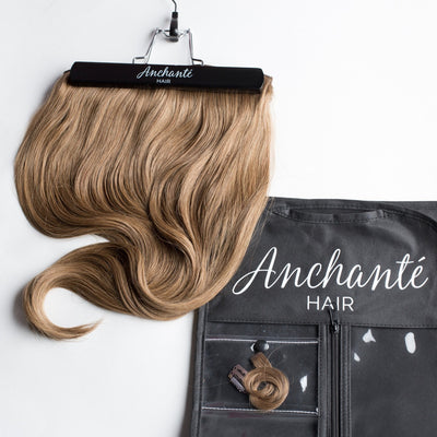 "120 Grams | Length 20"" - GOLDEN BLONDE #16-CLIP IN HUMAN HAIR EXTENSIONS"