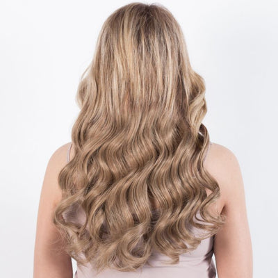 "120 Grams | Length 20"" - DIRTY BLONDE #18-CLIP IN HUMAN HAIR EXTENSIONS"