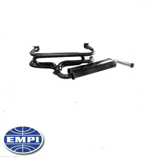 SINGLE QUIET EXHAUST SYSTEM TYPE 2 63-71, 1300-1600cc.