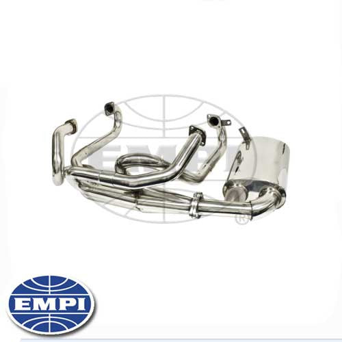 STAINLESS STEEL SIDE FLOW EXHAUST - TYPE 1