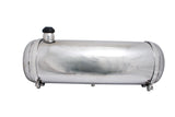 "POLISHED STAINLESS STEEL GAS TANK KIT 8"" x 30"""