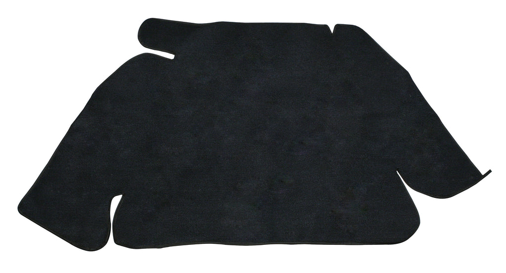 TRUNK CARPET KIT, BLACK, BEETLE 60-67