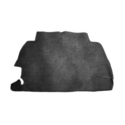 TRUNK CARPET KIT, BLACK, BEETLE 68-72 SEDAN & 68-70 CONV