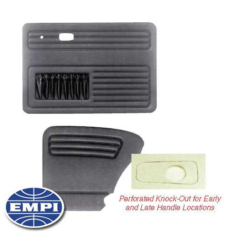 DOOR PANEL KIT, 4 PIECE, UNIVERSAL BEETLE SEDAN 58-64