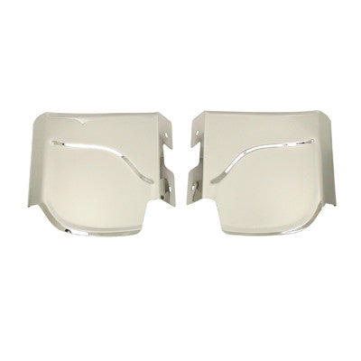 FENDER GUARDS, REAR, STAINLESS STEEL, BEETLE