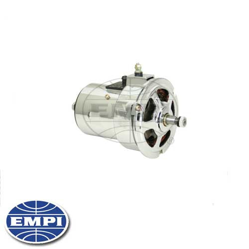 CHROME ALTERNATOR - 75 AMP