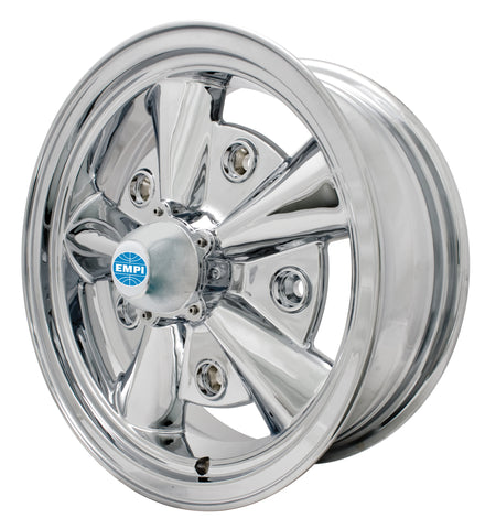 5 RIB WHEEL CHROME 5 X 205