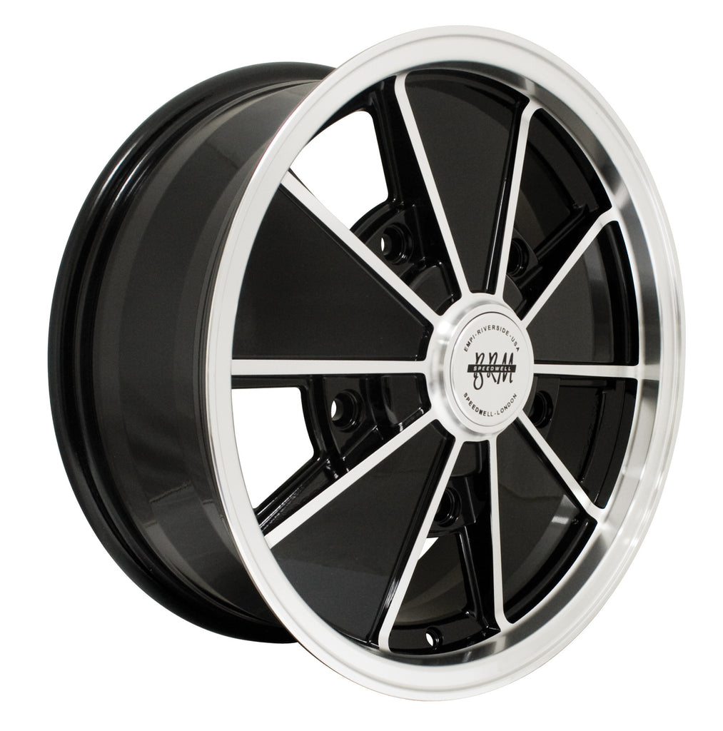 "BRM 5 X 205 HIGH GLOSS BLACK 17"" X 7"""