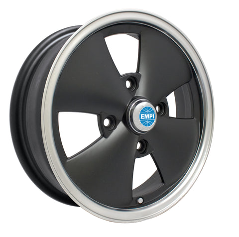 4 SPOKE MATTE BLACK WHEEL 4 X 130