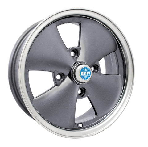 4 SPOKE ANTHRACITE WHEEL 4 X 130
